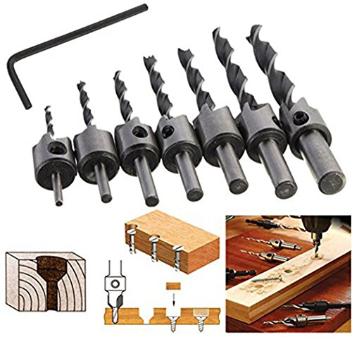 7-pcs-hss-3-4-5-6-7-8-10mm-countersink-drill-bits-reamer-woodworking-quick-change-chamfer-end-millin