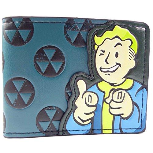 Bethesda Fallout 4 trifoglio verde Verde portafoglio