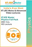 #10: IIT JEE Master Physics Video Lecture Classes Package 1 Yrs