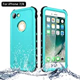 NewTsie Coque Étanche iPhone 7, Coque Antichoc iPhone 8, Imperméable IP68...