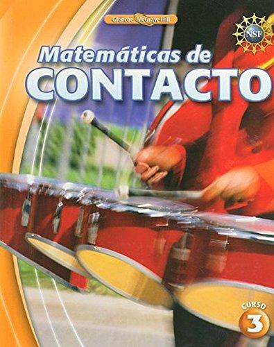 Matematicas de Contacto, Curso 3 (Elc: Impact Math) por Mcgraw-Hill Education