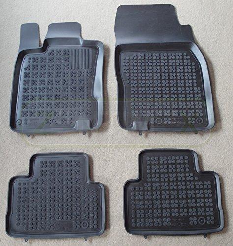 ZentimeX Z731364 Schalenmatten fahrzeugspezifisch mit Anti-Rutsch-Noppen (Durchmesser circa 18mm) schwarz