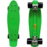"""RIMABLE Complete 22"""" Skateboard (Green)"""