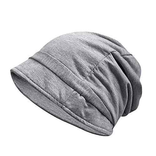 ics | Cozy fit Beanie, Mütze | Damen, Herren | mit weichem Teddyfell gefüttert | für warme Ohren | Relax fit(A Grau) ()