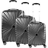 TITAN Luggage Set, 106 Liters, Anthracite