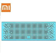 Xiaomi Bluetooth altavoz estéreo manos libres altavoz inalámbrico Mini SD soporte azul
