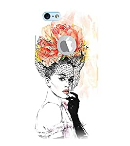 99Sublimation Beautiful Girl 3D Hard Polycarbonate Back Case Cover for Apple iPhone 6S