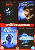 4 Film Collection: American Werewolf In London/Frankenstein/Dracula/Thing [DVD]