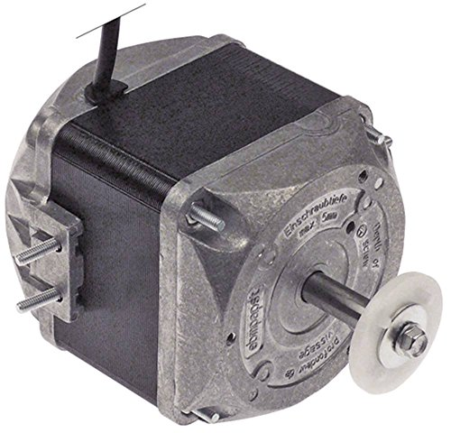EBM-PAPST M4Q045-EF01-75 Lüftermotor 230V 34W 1300/1550U/min 50/60Hz 5 Befestigungsoptionen Breite 92mm Geschwindigkeiten 2