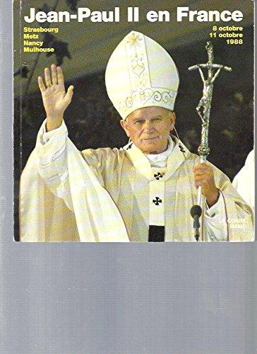 Le Pape en France, 1988