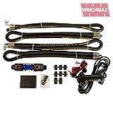Hydraulische Seilwinde Installation Kit Ventil Schläuche Control Gear