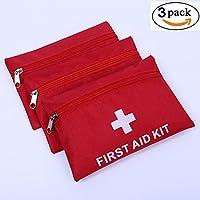 Preisvergleich für Erste Hilfe Set,Lifesport 3Pcs Erste-Hilfe-Koffer First Aid Kit Notfalltasche Medizinisch Tasche Klein kompakt...