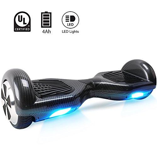 "BEBK Hoverboard, 6.5"" self balance scooter, Hover Board mit 2 * 350W Motor, LED Lights Elektro Scooter"