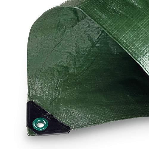 NOOR Hobby Telone Multiuso da Giardino I 150 x 150 120 g/m2 per Protezione dalle intemperie Resistente ai Raggi UV Rivestito su Entrambi i Lati