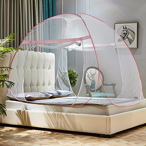 Moskitonetz Zelt Bett Baldachin Pop Up Faltbare Doppelte Tür Anti Mosquito  Bites Für Innen Außenbereich