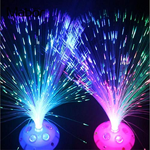 USB LED Fiber Optic Nachtlicht Kreative Lampe Wohnkultur Event Party Supplies Nacht Dekoration Wohnkultur Kinder Urlaub Hochzeitsgeschenk ()