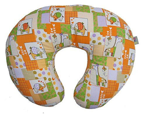 Nina (Original) Multitasker - Orange - Nursing pillow with slipcover - A Boppy Alternative