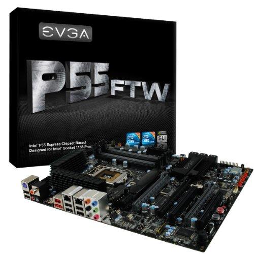 EVGA P55 FTW Mainboard Sockel Intel 1156 DDR3 ATX -