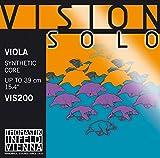 Cordes Thomastik Infeld Alto Vision Solo Noyau synthétique;Sol Argent filé; VIS23