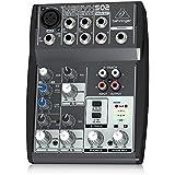 Behringer XENYX 502 Table de mixage Egaliseur bi-bande 2 Entrées micro 550 g