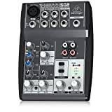 Behringer XENYX 502 Mixer Audio per DJ, live, studio, karaoke - Behringer - amazon.it