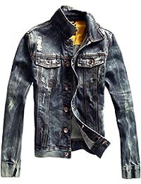 Dayiss® Herren Jungen Jeansjacke Jacke Denim