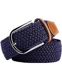Amazon.fr   ceinture tresse - Accessoires   Homme   Vêtements 8d315e70203
