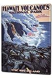 Blechschild XXL Weltenbummler Hawaii Big Island