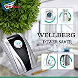Wellberg Legal and Safe Maxx Power Saver with Inbuilt Line Tester, Home Automation Electricity Saver Standard Size (Grey)
