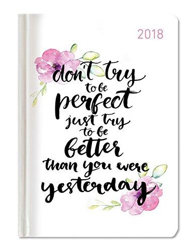 "Agenda giornaliera tascabile Style 2018 ""Better Today"" 10,7x15,2 cm"