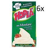 6x Hoplà Panna da montare glutenfrei Schlagsahne Sahne zum Nachtisch 500ml