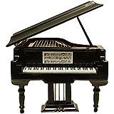 MyLifeUNIT Mini Piano con funda, instrumento Musical de madera para decoración del hogar