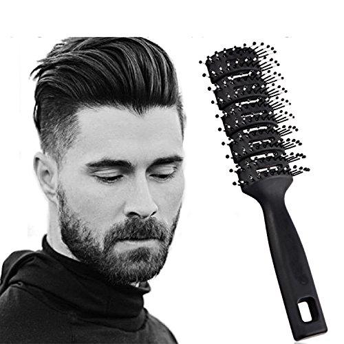 JINZA Noir Peigne de Rechange Peignes Barber Shop curl Peigne/Peigne à Cheveux Peigne Hommes Tête d'huile/Peigne Arrière Grand Peigne