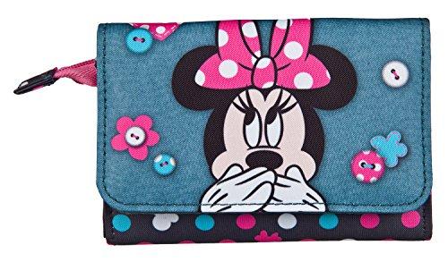Undercover MIDS7006 Geldbörse, Disney Minnie Mouse, ca. 8 x 12 x 2 cm
