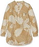 Mexx Mädchen Kleid Beige (Safari/Bright White Printed 318226), Herstellergröße: 122