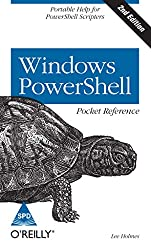 WINDOWS POWERSHELL POCKET REFERENCE 2ED