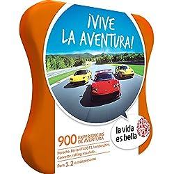 LA VIDA ES BELLA - Caja Regalo - ¡VIVE LA AVENTURA! - 900 experiencias de aventura como conducción, rafting, escalada y mucho más