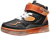 Geox Argonat B A, Jungen Hohe Sneakers, Schwarz (c0038), 27 EU