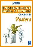 Posters Enseignement moral et civique CP-CE1-CE2