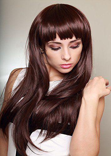 Ulterior Clothing Maroon Box Cut Fringe Hairstyle A1 A2 A3 Poster (Maroon Spiel)