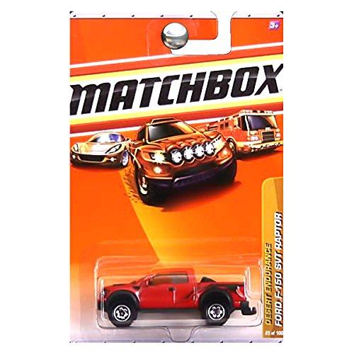 Matchbox 2010, Ford 150 SVT Raptor 85/100, Desert Endurance. 1:64 Scale. by Matchbox (Raptor Matchbox)