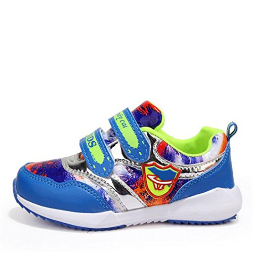 Boy's Breathable Newest Sneakers Shoes blue