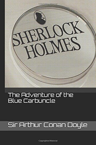 Book cover for The Adventure of the Blue Carbuncle