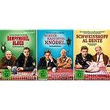 Eberhofer - 3 DVD Set (Dampfnudelblues + Winterkartoffelknödel + Schweinskopf al dente) - Deutsche Originalware