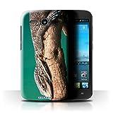 Stuff4 Hülle / Hülle für Huawei Ascend Y600 / Eidechse Muster / Wilde Tiere Kollektion