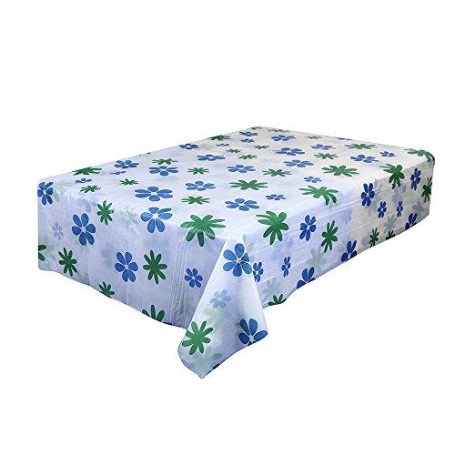 Ansenesna Tischdecke Quadratisch PVC 170x170cm Tischtuch Plastik Wasserabweisend Gartentischdecke...