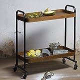 Servierwagen Teewagen Speisewagen Barwagen Vintage Trolley Rusty