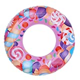 Lukis Baby Kleinkind Schwimmsitz Schwimmhilfe Aufblasbarer Schwimmring Kinderboot Rosa Außendurchmesser