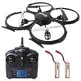 SGILE 2.4 GHZ 6-Achse Quadrocopter Gyro Drone mit FPV 720P HD Kamera Drohne Hexacopter mit Fernbedienung Geschenk