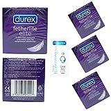 Die besten Durex Art von Kondomen - 24x Durex Fetherlite Elite Kondome (8x 3Stück) + Bewertungen